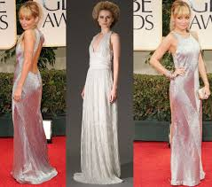 richie wedding dress ritchie golden globes silver wedding dress