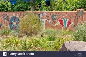 native american design motif stock photos native american design garden wall painted in native american motif designs stock image