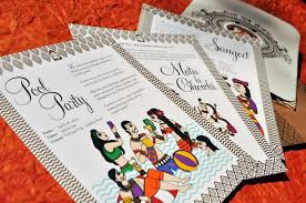 contemporary indian wedding invitations new 6 indian wedding invitation trends from the pro s