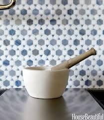blue moroccan tile kitchen backsplash this moroccan inspired tile