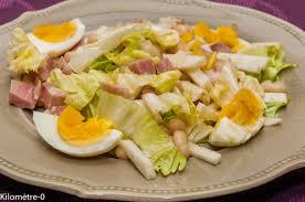 cuisiner haricots coco salade de haricots blancs au jambon oeufs et radis noir kilometre