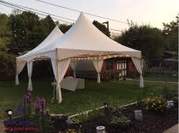 rent party tent backyard party tent gardening design