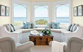 Beach House Living Rooms Living Room Beach Style With Chaise - Beach style decorating living room