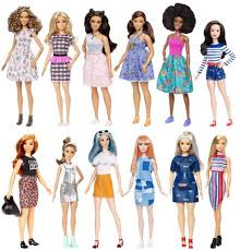 barbie fashionistas doll 63 platinum pop curvy dyy93 barbie