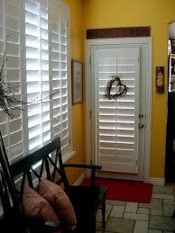 Bypass Shutters For Patio Doors Hmmmm Nerver Thought About Using Plantation Shutters For The