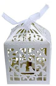 beautiful ivory white shimmer favour gift boxes perfect for
