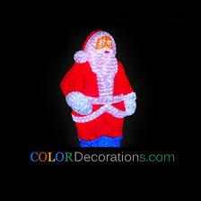 cd ls101 santa claus decorations acrylic led santa