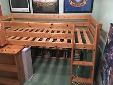 cabin bed with desk ebay