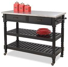 kitchen cart in black black traditional kitchen islands and