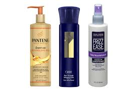 best leave in conditioner for dry frizzy hair the best drugstore and luxury hair detangling sprays