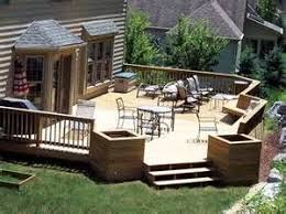 Backyard Deck And Patio Ideas by 94 Best Decks Images On Pinterest Outdoor Ideas Gardening And