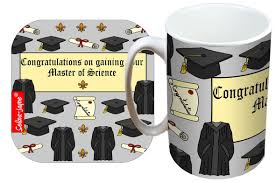 selina jayne graduation msc limited edition designer mug and