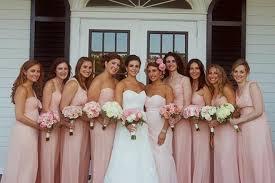 blush pink bridesmaid dresses blush pink and gold bridesmaid dresses naf dresses