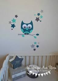 autocollant chambre bébé stickers hibou chambre bébé photo phenomenal stickers chambre enfant