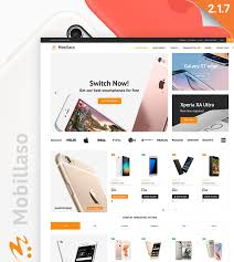 mobile store magento 2 theme