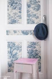 Rideaux Toile De Jouy γγρ Un Papier Peint Vintage Style Toile De Jouy Appliqué Sur