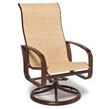 Swivel Outdoor Patio Chairs by Agio Veranda Patio Swivel Rocker Chair Mathis Brothers Furniture