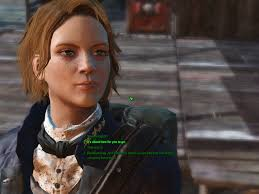my fo4 character rebecca in response to this reddit post