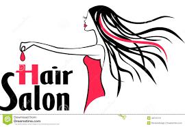 modern hair salon logo stock vector image 48751519
