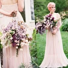 plus size blush wedding dresses colored wedding dresses plus size pluslook eu collection