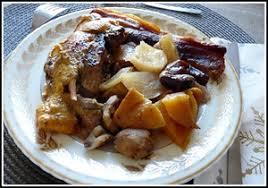 cuisiner les navets blancs bäckeoffe de marrons navets et pintade au lard recette iterroir