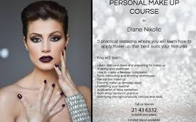 makeup courses make up courses malta diane nikolic services malta diane nikolic