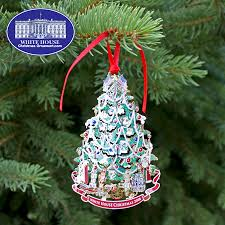 White House Christmas Ornament - 2008 white house benjamin harrison ornament