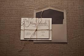 wedding invitation bundles real wedding ashleigh and rustic kraft wedding invitation