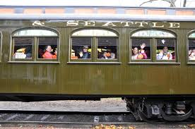 halloween storytelling train