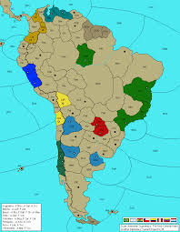 South America Map Games by Passable Diplomacy Variants For 8 10 Players Game Design Is