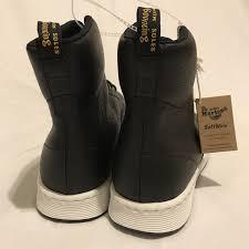dr martens rigal men u0027s boots black leather woven regal hi top