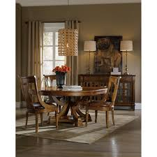 hooker furniture 5323 75206 tynecastle 60 round pedestal dining
