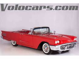 1960 ford thunderbird for sale on classiccars com 19 available