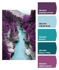 kaelyn wants dark purple walls with light blue swirls for her