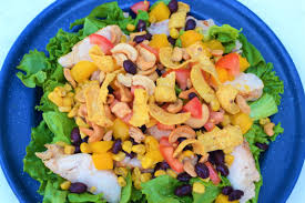Garden Salad Ideas Tip Garden Chicken Black Bean And Mango Salad