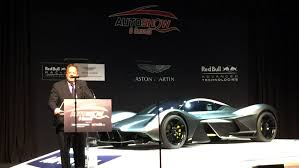 aston martin hypercar toronto sees global unveiling of aston martin red bull hypercar