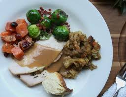 a breezy and bountiful thanksgiving plate connecticut in style