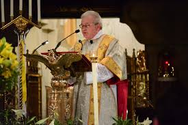 thanksgiving homily shrine parishioners rejoice in u0027great honor u0027 of basilica u0027s new