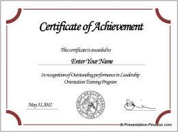 powerpoint award certificate template casseh info
