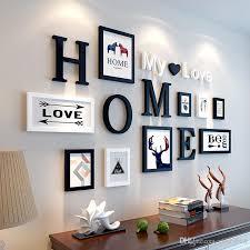 home decor love 2018 european stype home design wedding love photo frame wall