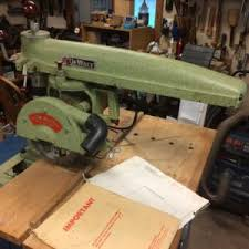 Craftsman Radial Arm Saw Table Radial Arm Saw 922038 Sears Finewoodworking