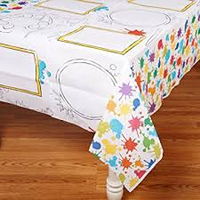 party table covers party activity table cover kitchen dining