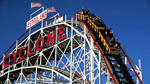 Six Flags In Usa First Roller Coaster In America Opens Jun 16 1884 History Com