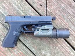 surefire light for glock 23 recover tactical frame rail for gen1 2 glocks guns tech