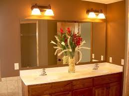 kitchen sink double handle fucet on side bathtub bathroom light