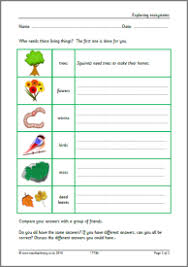 eyfs ks1 ks2 habitats teachit primary