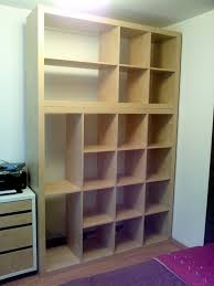 Shelving Units For Closet Ikea Hackers Old Expedit To