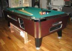 used valley pool table valley 7 pool table for sale used