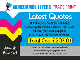 Business Cards Quotes Flyers Business Card And Letterheads Print Quote Morecambe