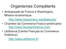chambre de commerce franco am駻icaine les différentes formes juridiques la stratégie commerciale ppt